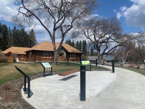 Centre d'accueil du parc national du Mont-Riding (Groupe CNW/Parcs Canada)